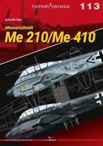 Kagero 7113 Messerschmitt Me 210/410 EN/PL