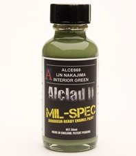 Alclad II ALC-E668 IJN Nakajima Interior Green 30 ML