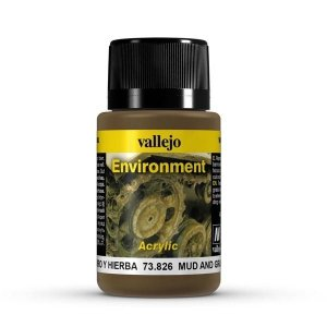 Vallejo 73826 Environment - Muds&Grass Eff.40 ml