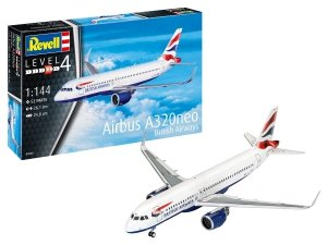 Revell 03840 Airbus A320neo British Airways 1/144
