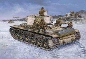 Hobby Boss 84813 Russian KV-1 Model 1942 (1:48)