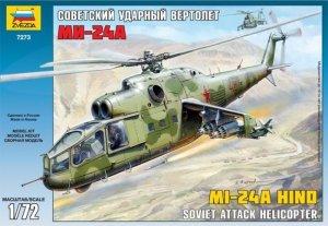 Zvezda 7273 MIL MI-24A HIND (1:72)