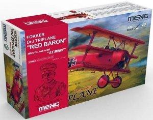Meng Model QS-002S Fokker Dr.I Triplane Red Baron 1/32