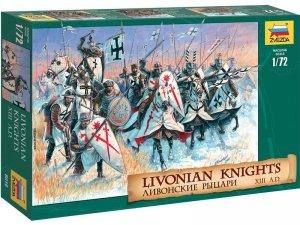 Zvezda 8016 Livonian Knights XIII A.D. 1/72