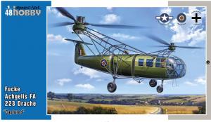 Special Hobby 48201 Focke Achgelis FA 223 Drache Captured 1/48