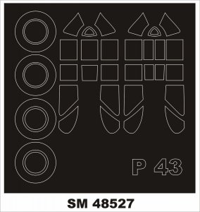 Montex SM48527 P-43 Lancer 1/48