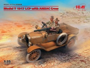 ICM 35668 Model T 1917 LCP with ANZAC Crew 1/35