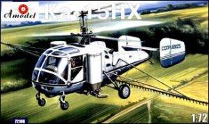 A-Model 72106 Kamov Ka-15NH Soviet agriculture helicopter 1:72