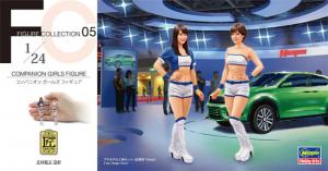 Hasegawa FC05 Companion Girls Figure 1/24
