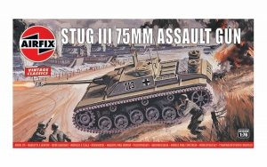 Airfix 01306V Stug III 75mm Assault Gun 1/76