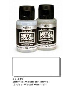 Vallejo 77657 Metal Color- Gloss Metal Varnish 32ml
