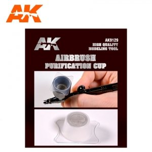 AK Interactive AK 9129 AIRBRUSH PURIFICATION CUP / Sitko do farby