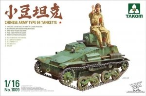 Takom 1009 Chinese Army Type 94 Tankette 1/16