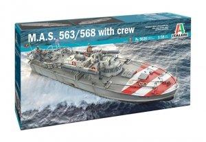 Italeri 5626 M.A.S. 563/568 with crew 1/35
