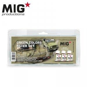 MIG Productions P265 Green colors filter set (3x35ml)
