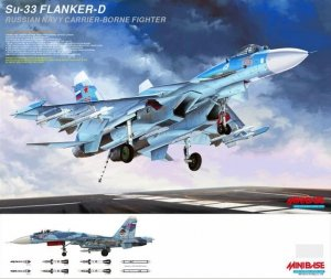MiniBase 8001 SU-33 Flanker-D 1/48