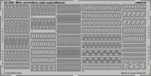 Eduard 32230 Wire Stretchers & Controlhorns 1/32
