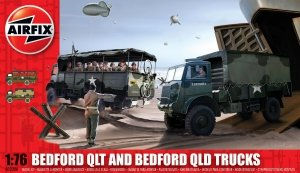 Airfix 03306 Bedford QLT And Bedford QLD Trucks 1/76