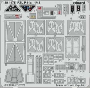 Eduard 491175 PZL P.11c ARMA HOBBY 1/48
