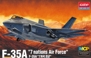 Academy 12561 F-35A '7 nations Air Force' 1/72