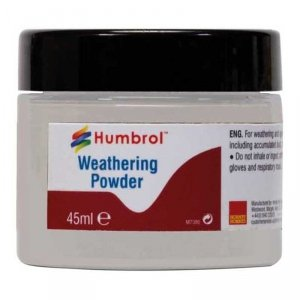 Humbrol AV0012 Weathering Powder White 45ml