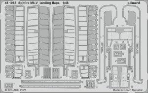 Eduard 481065 Spitfire Mk.V landing flaps EDUARD 1/48