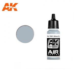 AK Interactive AK 2173 RAL 7001 SILVER GREY (SILBERGRAU) 17ml