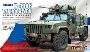 Meng Model VS-014 Russian K-4386 Typhoon-VDV Armored Vehicle 1/35