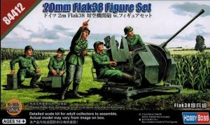 Hobby Boss 84412 German 20mm Flak38 Figure Set 1/35
