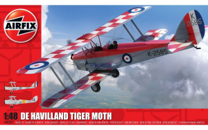 Airfix 04104 de Havilland DH82aTiger Moth - 1/48