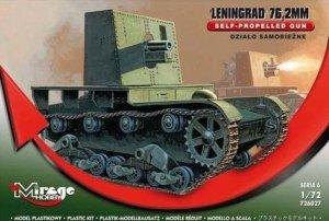 Mirage Hobby 726027 Leningrad 76.2 mm SELF-PROPELLED GUN (1:72)