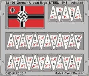 Eduard 53196 German U-boat flags 1/48