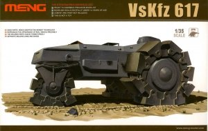 Meng Model SS-001 Germany VsKfz 617 Minenraumer (1:35)