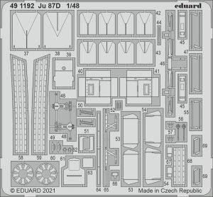 Eduard 491192 Ju 87D HASEGAWA / HOBBY 2000 1/48