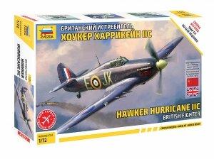 Zvezda 7322 British Fighter Hawker Hurricane IIC 1/72