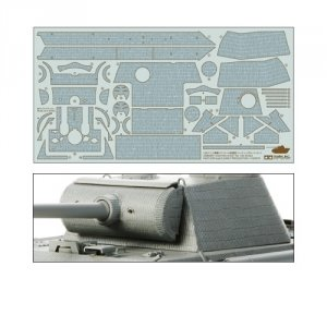 Tamiya 12646 Zimmerit Coating Sheet for Panther Ausf. G Early Production (1:35)