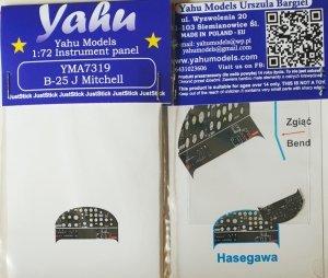 Yahu YMA7319 B-25J Hasegawa 1/72