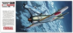 Fine Molds FP35 IJN Planned Interceptor Mitsubishi A7M2 'Reppu' Sam 1/72