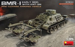 MiniArt 37034 BMR-1 EARLY MOD. WITH KMT-5M 1/35
