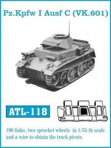 Friulmodel 1:35 ATL-118 Pz.KpfwbI Aufs C (VK.601)