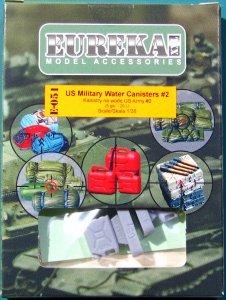 EUREKA XXL E-051 US Military Water Canisters #2 (4 pcs) 1/35