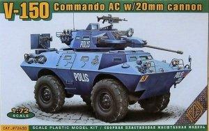 Ace 72430 Commando Car 20mm or 90 mm gun 1:72