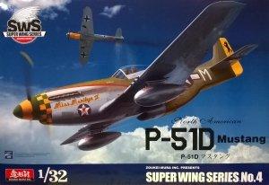 Zoukei-Mura SWS3204 P-51D Mustang 1/32