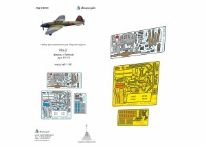 Microdesign MD 048023 Il-2 detail set Tamiya 1/48