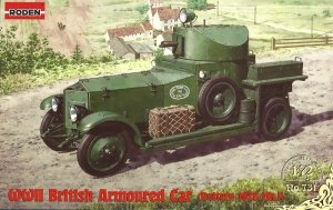 Roden 731 WWII British Armoured Car (Pattern 1920 Mk.I)