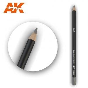 AK Interactive AK 10035 Watercolor Pencil DARK ALUMINIUM