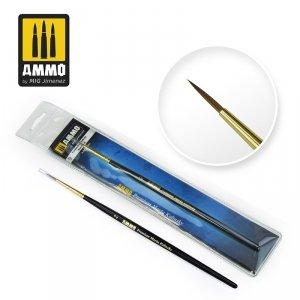 AMMO of Mig Jimenez 8603 2 PREMIUM MARTA KOLINSKY ROUND BRUSH