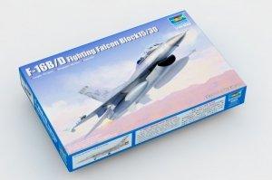 Trumpeter 03920 F-16B/D Fighting Falcon Block15/30 1/144