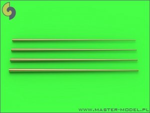 Master SM-700-048 Set of universal tapered masts No2 (length = 60mm each, diameters = 0,4/1,4mm; 0,5/1,6mm; 0,6/1,8mm; 0,7/2mm) 1:700