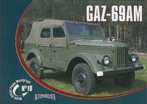 Rossagraph Model Detail Photo Monograph No. 18 - GAZ-69AM PL